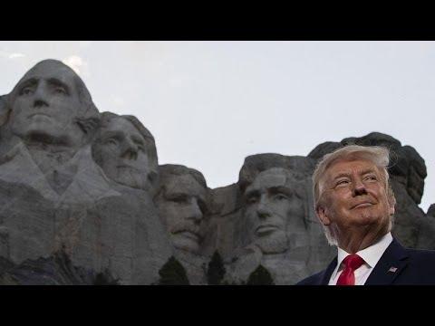 شاهد: ترامب يزور نصب جبل راشمور في أوج انتشار مقلق لوباء كوفيد-19…  - نشر قبل 23 ساعة