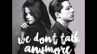 Charlie puth: we don't talk anymore (audio)