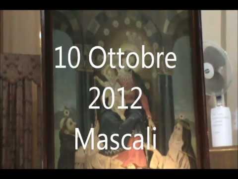 10 Ottobre 2012 Mascali Santa Messa e Adorazione concelebra Padre.F. Broccio e Padre Saro..wmv