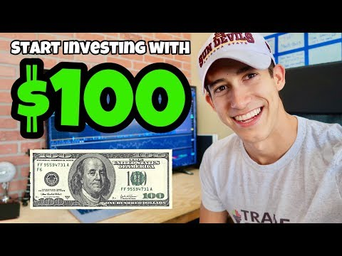 How To Start Investing With $100   Stock Market For Beginners