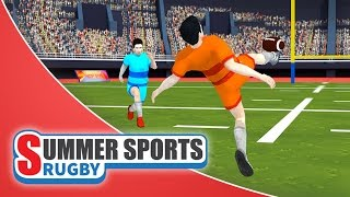 Summer Sports: Rugby - Game Trailer (Spil Games)