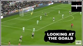 Analysing the goals   Newcastle United 2-1 Bournemouth