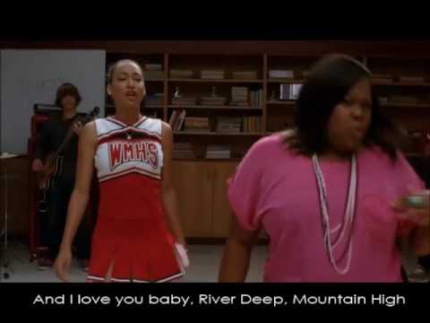 Glee - River Deep, Mountain High (Full Performance with Lyrics)