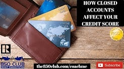 How Closed Accounts W/Balances Affect Your FICO/Credit Karma Score (Includes Tradelines Accounts)