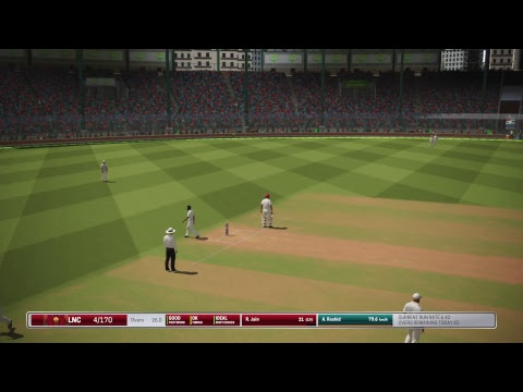 Ashes Cricket - English County Cup Round 3