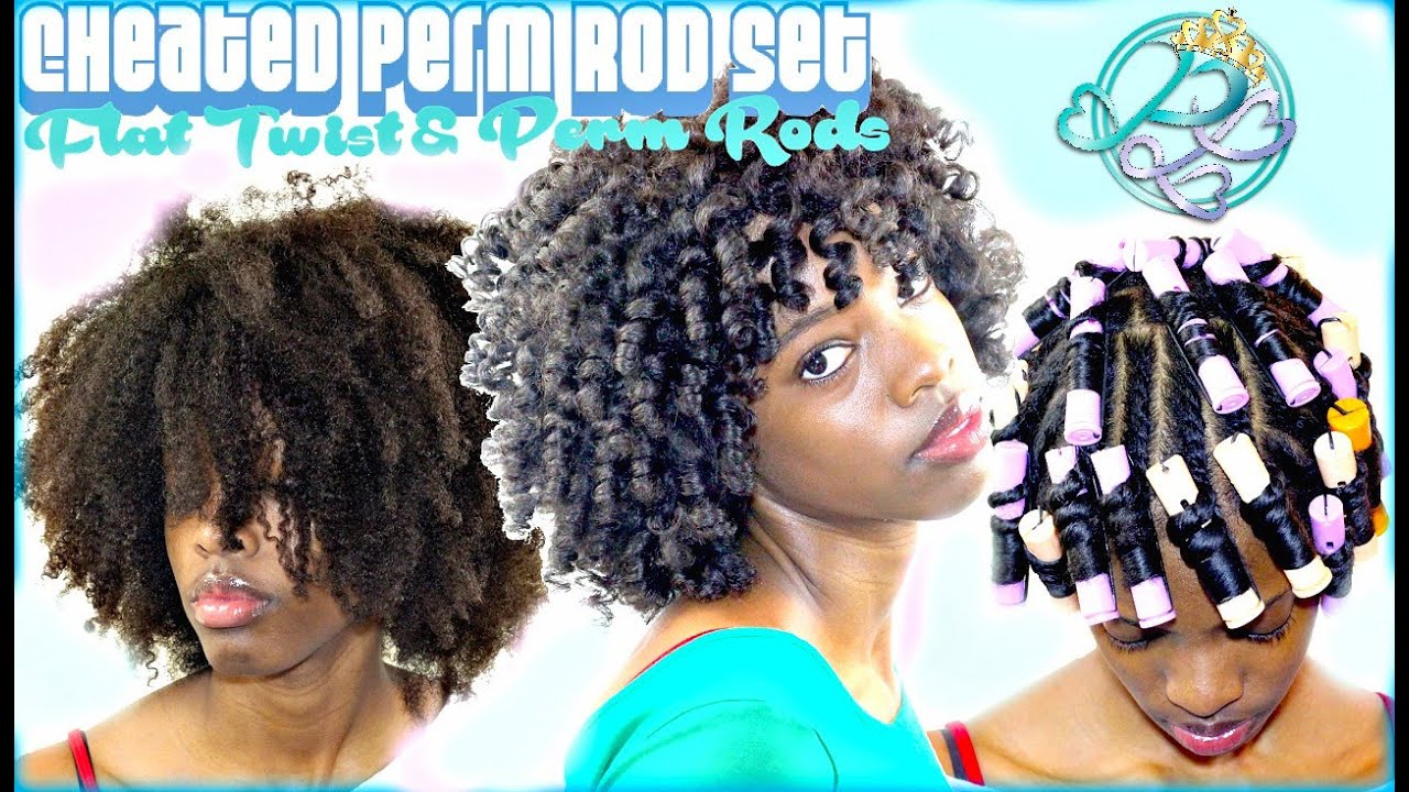 Perm Rod Twist Out On Natural Hair