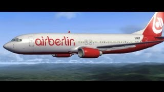 Microsoft Flight Simulator X + Acceleration, Valencia-Alicante {AirBerlin} 1 de 2