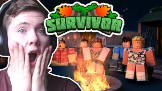 I'M ON TV WITH SURVIVOR ISLAND?!! - Roblox Survivor [ ItsBear ]