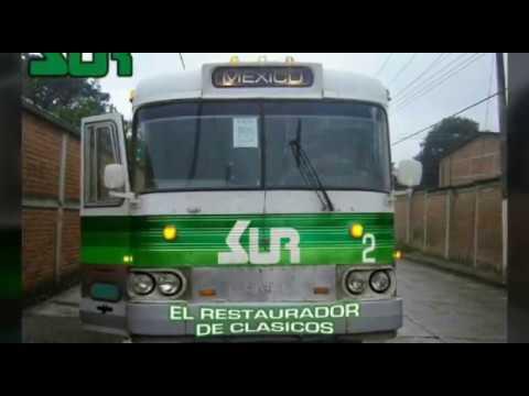 Autobuses SUR atarves de los años y en la actualid