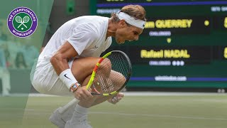 Rafa Nadal vs Sam Querrey Wimbledon 2019 quarter-final highlights