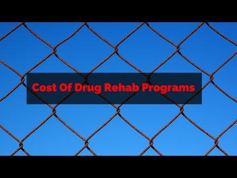 Cost Of Drug Rehab Programs