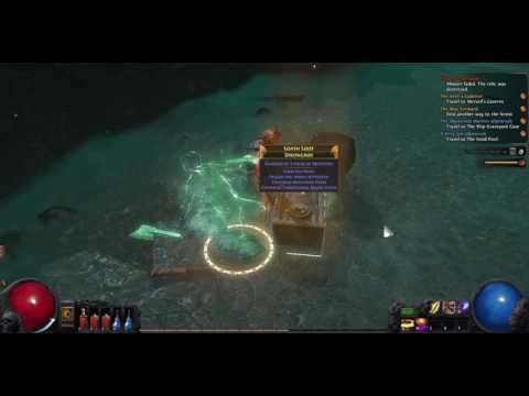 I kill a bunch of monsters in Path Of Exile by just standing there and letting them hit me!