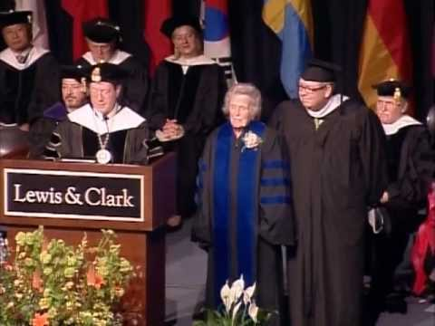 Dorothy Stafford honored at 2013 commencement