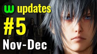 Update #5 | New & upcoming games of Nov-Dec 2016