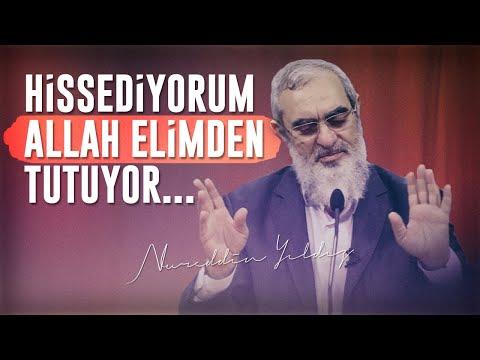 HİSSEDİYORUM ALLAH ELİMDEN TUTUYOR... | Nureddin Yıldız