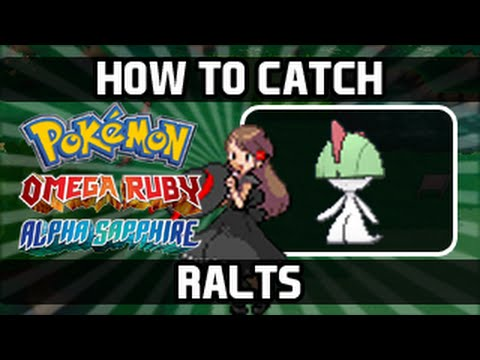 Pokemon Omega Ruby Alpha Sapphire How To Catch Ralts