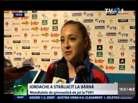 Romanian Gymnastics News from Antwerp - 02.10.2013
