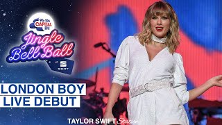 Taylor Swift - London Boy (Live Debut at Capital's Jingle Bell Ball 2019)