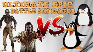 9999 zombİ vs penguen! Şahane savaŞ sİmulasyonu!