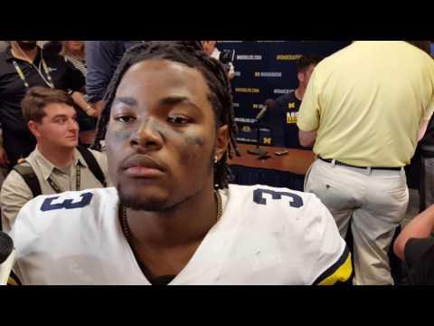 Michigan spring game 2017: DE Rashan Gary talks young talent, progress