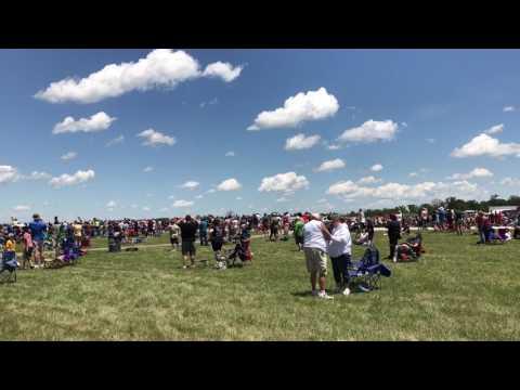 At Dayton airshow
