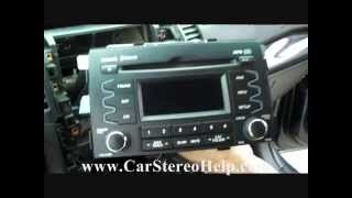 How to Kia Sorento Troubleshooter and Stereo Removal 2011 - 2013 repalce repair