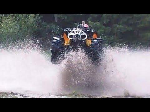 Wide Open ATV Action,can am renegade 1000,lifted polaris ...