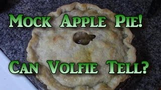 Mock Apple Pie!  Fools Volfie!