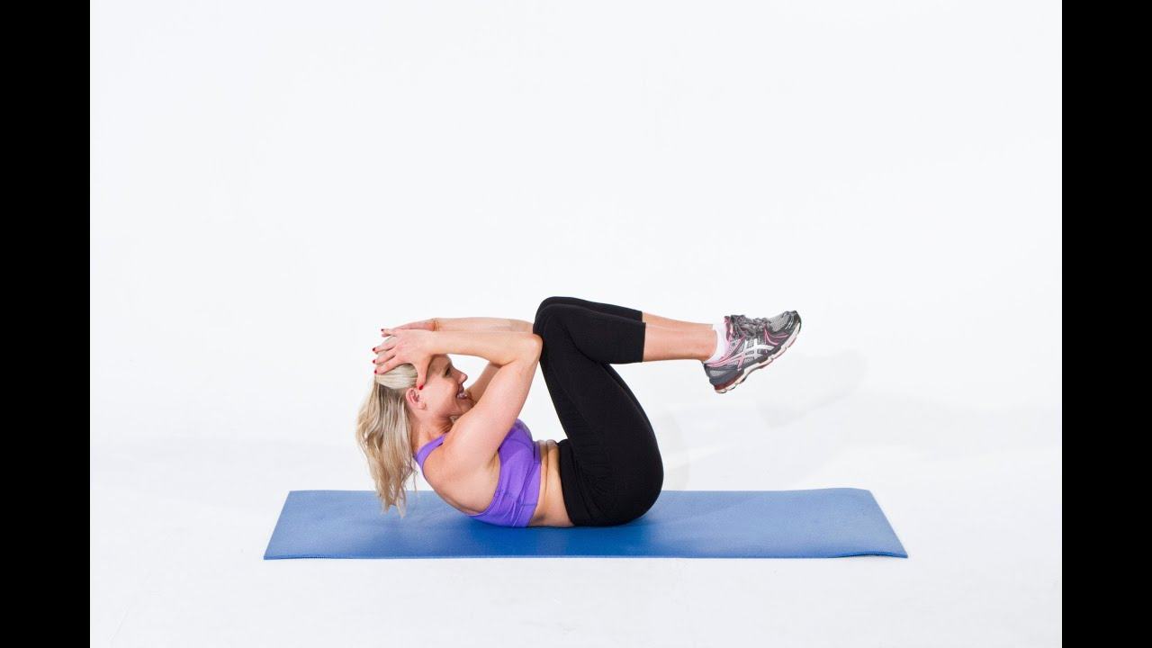 Best Exercise for Abs - Accordion Crunch - YouTube