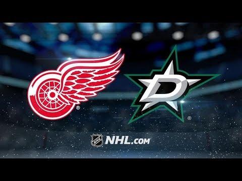 Detroit Red Wings Vs. Dallas Stars | NHL Game Recap | October 10, 2017 | HD