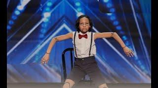 Kid Dancer Noah Epps Delivers Cool Marionette Performance   America&#39s Got Talent 2020