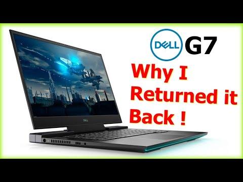 Why I returned my Dell G7 15 Core i9-10885H GeForce RTX 2070 Max Q
