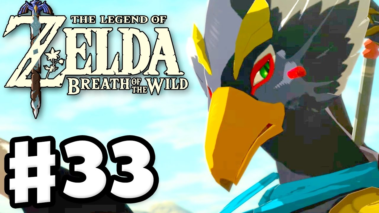 Revali Memory And Rito Village The Legend Of Zelda Breath Of The
