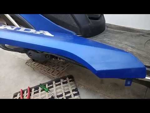 Honda Grazia ACCIDENT !!CRACKED! Side lower Panel Repair !! And My Views On Its Build Quality ?