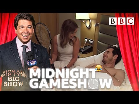 PRANKED! Andy Murray WOKEN UP by 'Spice Girl' Geri – Michael McIntyre's Midnight Gameshow BBC