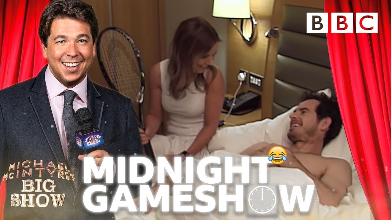 PRANKED! Andy Murray WOKEN UP by 'Spice Girl' Geri | Michael McIntyre's Midnight Game