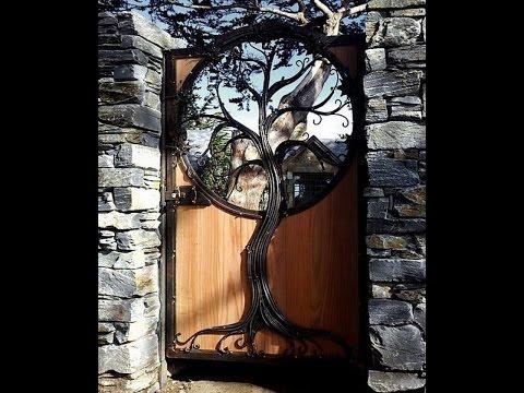 Видео Деревянные двери своими руками. Необычные двери, очень красивые и оригинальные.