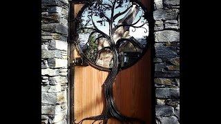 Деревянные двери своими руками. Необычные двери, очень красивые и оригинальные.(Деревянные двери своими руками может конечно сделать только специалист, особенно такие оригинальные двери..., 2016-03-14T07:43:33.000Z)