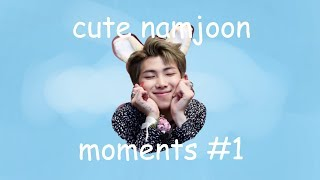 [BTS] namjoon//rap monster cute moments