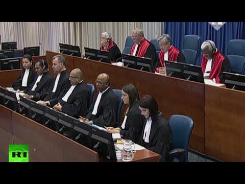 Karadzic sentenced to 40 years in prison – Yugoslavia tribunal (recorded LIVE)