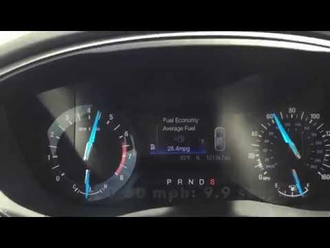 2016 Ford Fusion 0 60 Mph