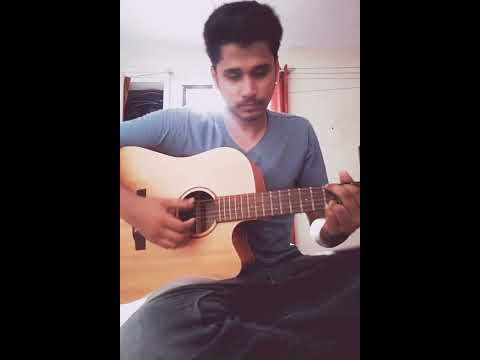 Baarish (Half Girlfriend) Acoustic Cover By Razik Mujawar