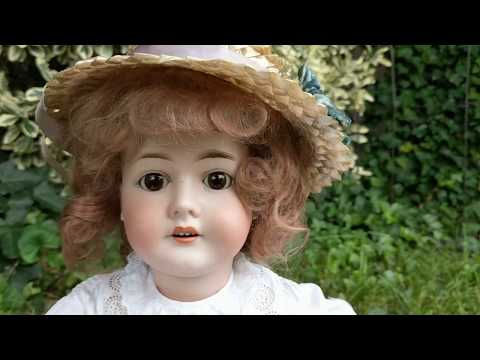 Why Antique Bisque Dolls Are Considered Creepy, Haunted & Scary..