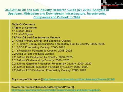 Q1 2014 Africa Oil and Gas Industry- Supply & Demand Scenario by 2025