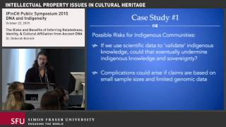 Deborah Bolnick: Inferring Relatedness, Identity, and Cultural Affiliation from Ancient DNA