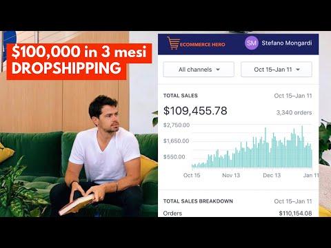 $100,000 in meno di 3 mesi facendo DROPSHIPPING: Quello che pochi dicono