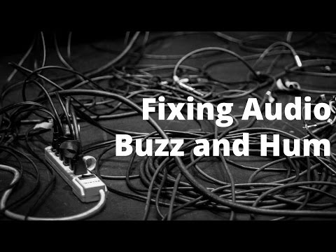 Buzz/Hum In Your Audio Recordings
