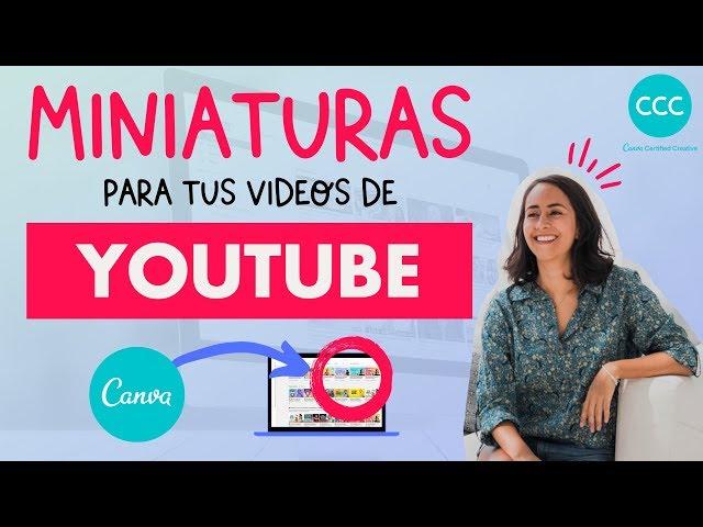 Cómo crear Thumbnails para YouTube en Canva (tutorial en Español!) | Aprende con Diana Muñoz