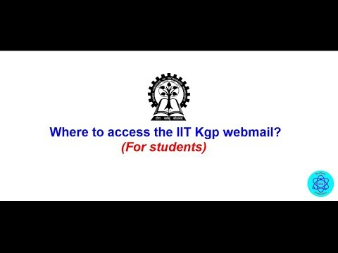 IIT KGP Webmail access || Zimbra web client ||