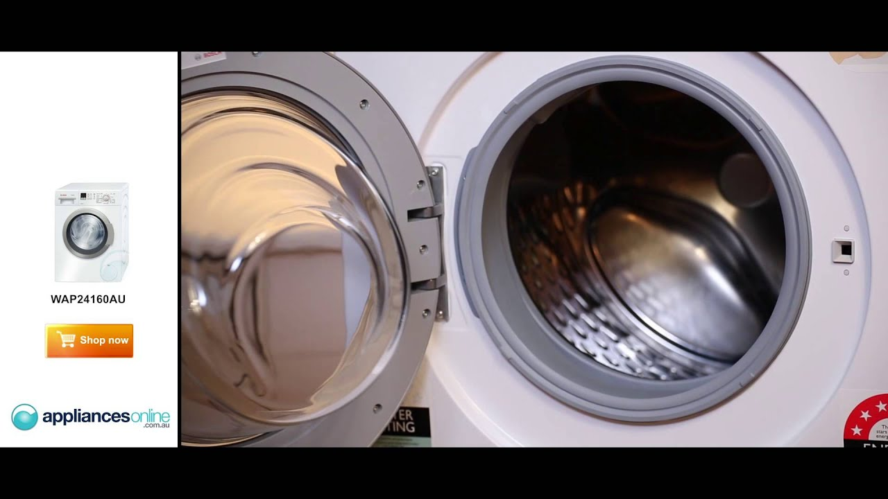 Expert Reviews The Extremely Quiet Bosch Wap24160au Front Load Washing Machine Liances Online